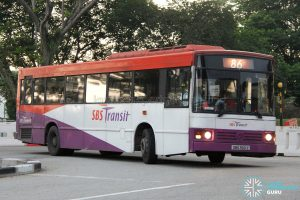 Bus 86: SBS Transit Mercedes-Benz O405 CAC (SBS3921Z)