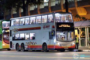 Shuttle 6 - SMRT Buses Alexander Dennis Enviro500 (SMB5002Y)