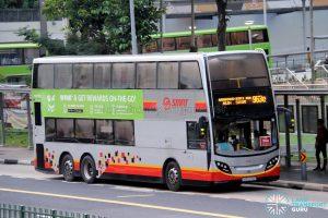 Bus 963e - SMRT Buses Alexander Dennis Enviro500 (SMB5074P)