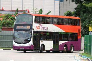 Bus 400 - SBS Transit Volvo B9TL Wright (SG5389J)