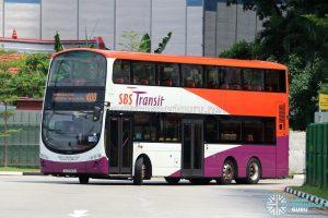 Bus 400 - SBS Transit Volvo B9TL Wright (SG5391B)