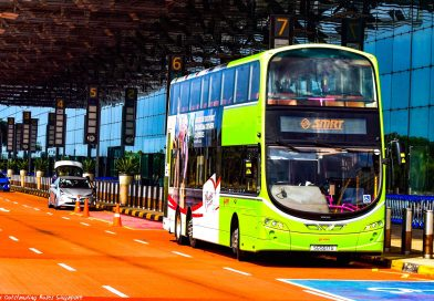 Double-Deck Bus Testing at Changi Airport