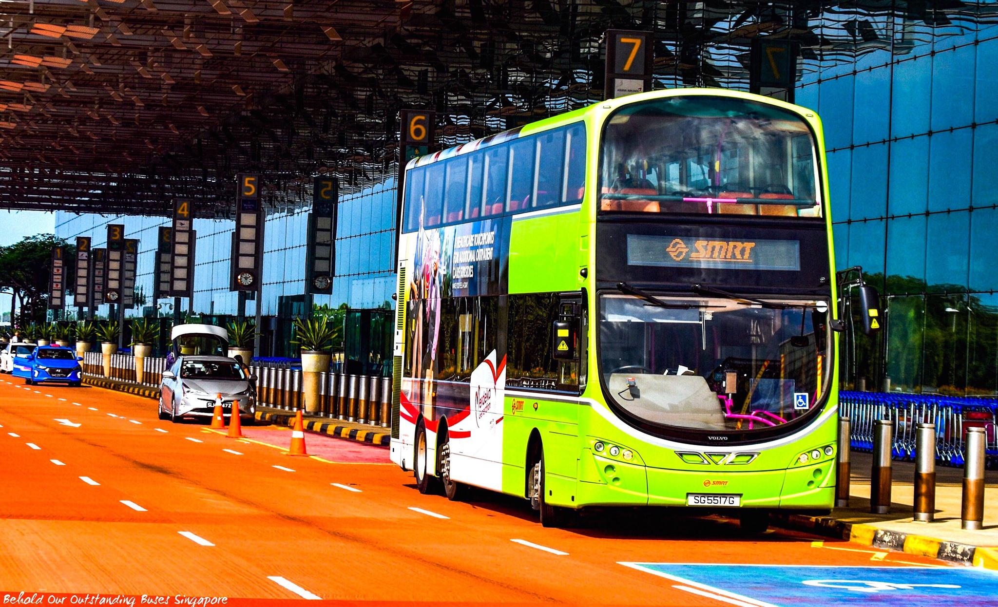 Double-Deck Bus Testing at Changi Airport | Land Transport Guru