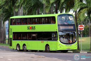 Bus 901M - SMRT Buses Volvo B9TL Wright (SG5529Y)