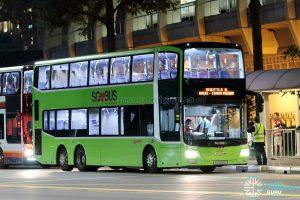Shuttle 6 - SMRT Buses MAN A95 (SG5816T)