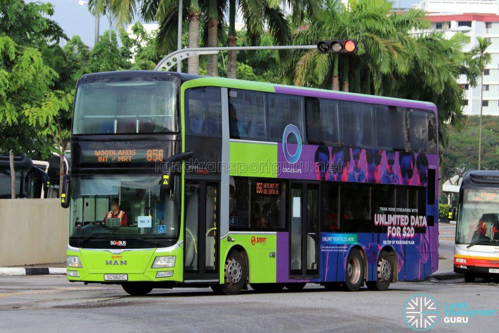 Bus 856 - SMRT Buses MAN A95 (SG5821C)