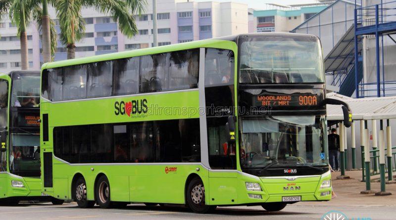 Bus 900A - SMRT Buses MAN A95 (SG5872E)