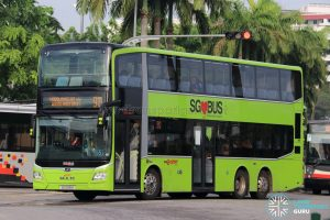 Bus 913 - SMRT Buses MAN A95 Euro 6 (SG5951K)