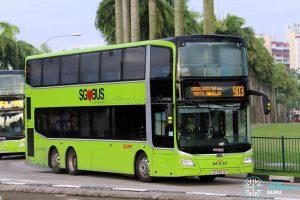 Bus 903 - SMRT Buses MAN A95 Euro 6 (SG5967R)