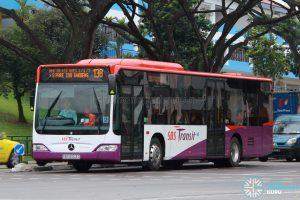 Bus 138: SBS Transit Mercedes-Benz Citaro (SBS6003D)