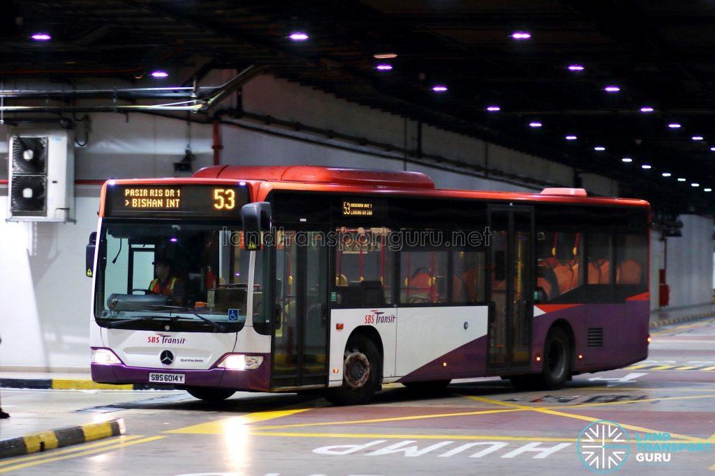 Bus 53 - SBS Transit Mercedes-Benz Citaro (SBS6014Y)