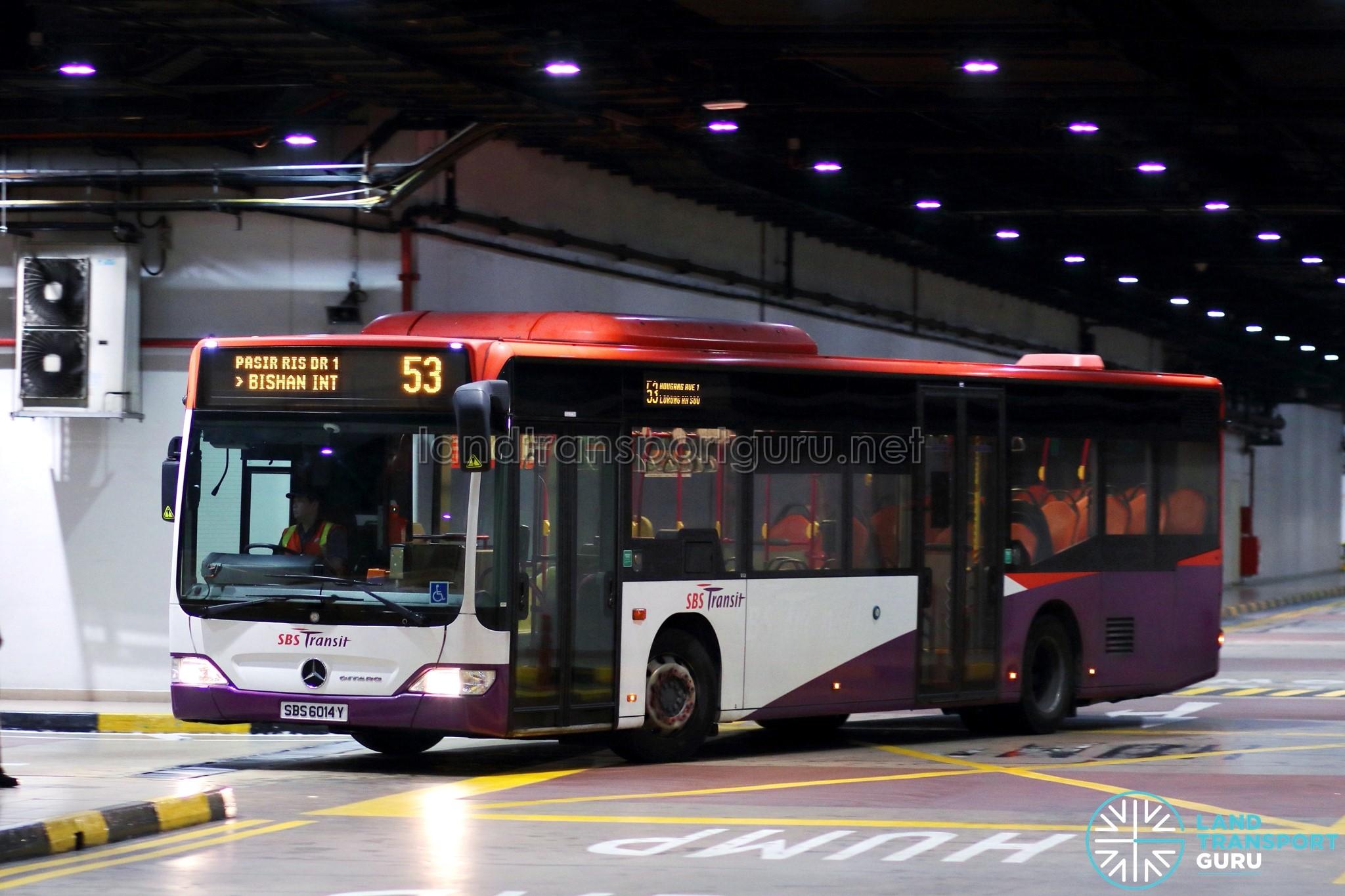 SBS Transit Bus Service 53   Land Transport Guru