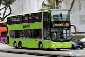 Bus 854 - SMRT Buses MAN A95 Euro 6 (SG6024E)