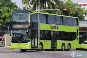 Bus 961 - SMRT Buses MAN A95 Euro 6 (SG6030L)