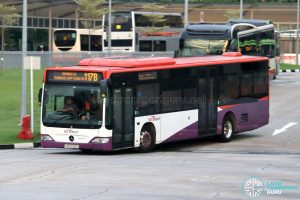 Bus 117B - SBS Transit Mercedes-Benz Citaro (SBS6128C)