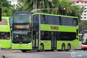 Bus 913 - SMRT Buses MAN A95 Euro 6 (SG6130G)