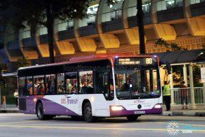 Bus 80 - SBS Transit Mercedes-Benz Citaro (SBS6271X)