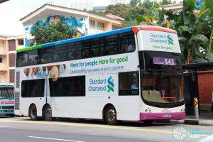 Premium Bus 543: SBS Transit Volvo B9TL CDGE (SBS7489D)