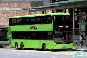 Express 10e - SBS Transit Volvo B9TL CDGE (SBS7493R)