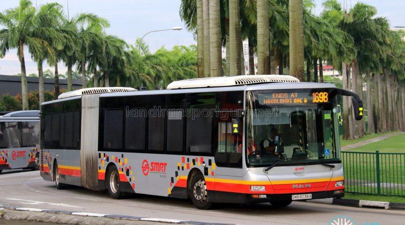 Bus 169B - SMRT Buses MAN A24 (SMB8038A)