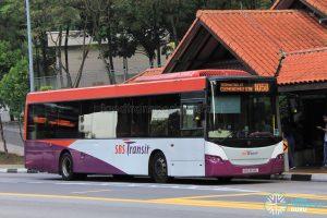 Bus 105B: SBS Transit Scania K230UB (SBS8198L)