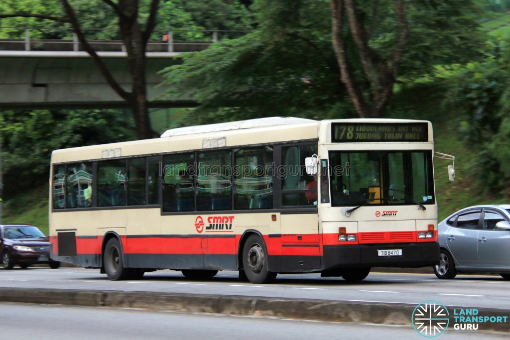 SMRT Scania L113CRL (ΕΛΒΟ Hellenic Vehicle Industry) (TIB847G) - Service 178