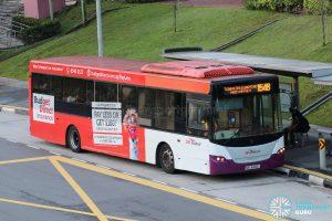 Bus 154B - SBS Transit Scania K230UB Euro IV (SBS8486E)