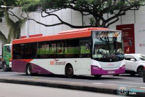 Bus 33B - SBS Transit Scania K230UB Euro IV (SBS8543Z)