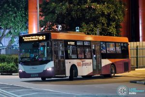 On-Demand Public Bus (Marina-Downtown) MD-3 - SBS Transit Scania K230UB Euro V (SBS8826H)