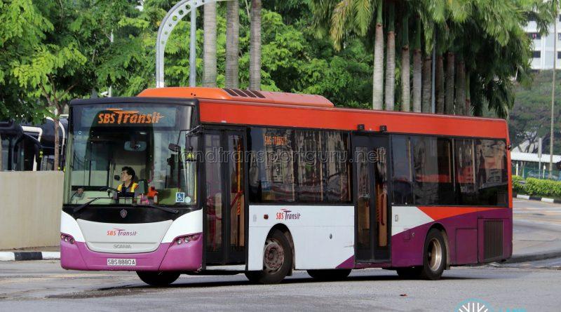 SBS Transit Logo - SBS Transit Scania K230UB Euro V (SBS8880A)