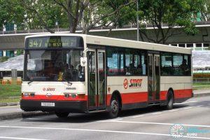 Bus 947: SMRT Hino HS3KRKA (TIB905Y)