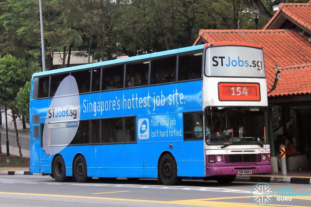 Bus 154: SBS Transit Leyland Olympian 3-Axle (SBS9168S)