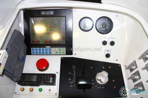 Alstom Metropolis C830 Driving Console