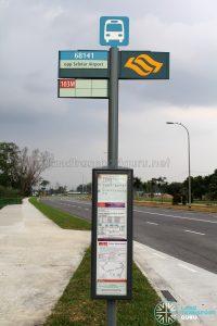 Bus Stop 68141 - Opp Seletar Airport