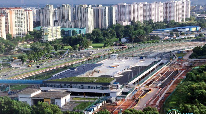 Gali Batu Bus Terminal Construction Progress - June 2019