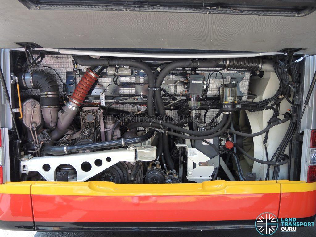 MAN A22 - Engine Bay