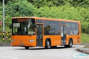 Sentosa Cove Shuttle - Sentosa Development Corporation Volvo B7RLE (PA5286P)