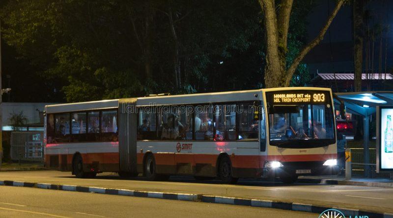 Bus 903 - SMRT Buses Mercedes-Benz O405G Volgren (TIB1195Y)
