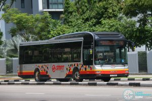 Bus 110 - SMRT MAN A22 (SG1709X)