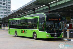 Bus 34: Go-Ahead MAN A22 (SG1720L)