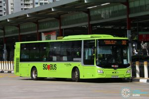 Bus 382: Go-Ahead MAN Lion's City (SG1797R)