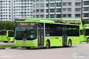 Bus 382G - Go-Ahead MAN Lion's City A22 (SG1797R)
