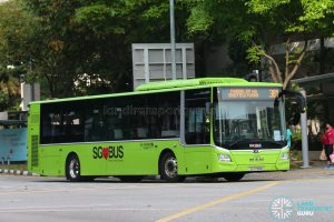 Bus 381 - Go-Ahead MAN Lion's City A22 (SG1798M)