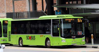 Bus 167e - SMRT Buses MAN A22 Euro 6 (SG1806Z)