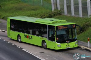 Bus 53 - SBS Transit MAN Lion's City A22 (SG1837J)