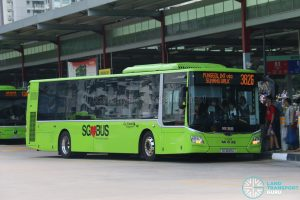 Bus 382G - Go-Ahead MAN Lion's City A22 (SG1849A)