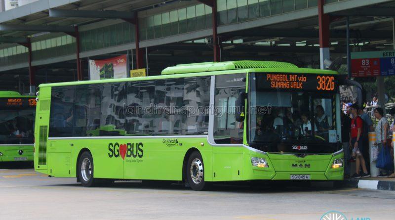 Bus 382G - Go-Ahead MAN Lion's City A22 (SG1849A)