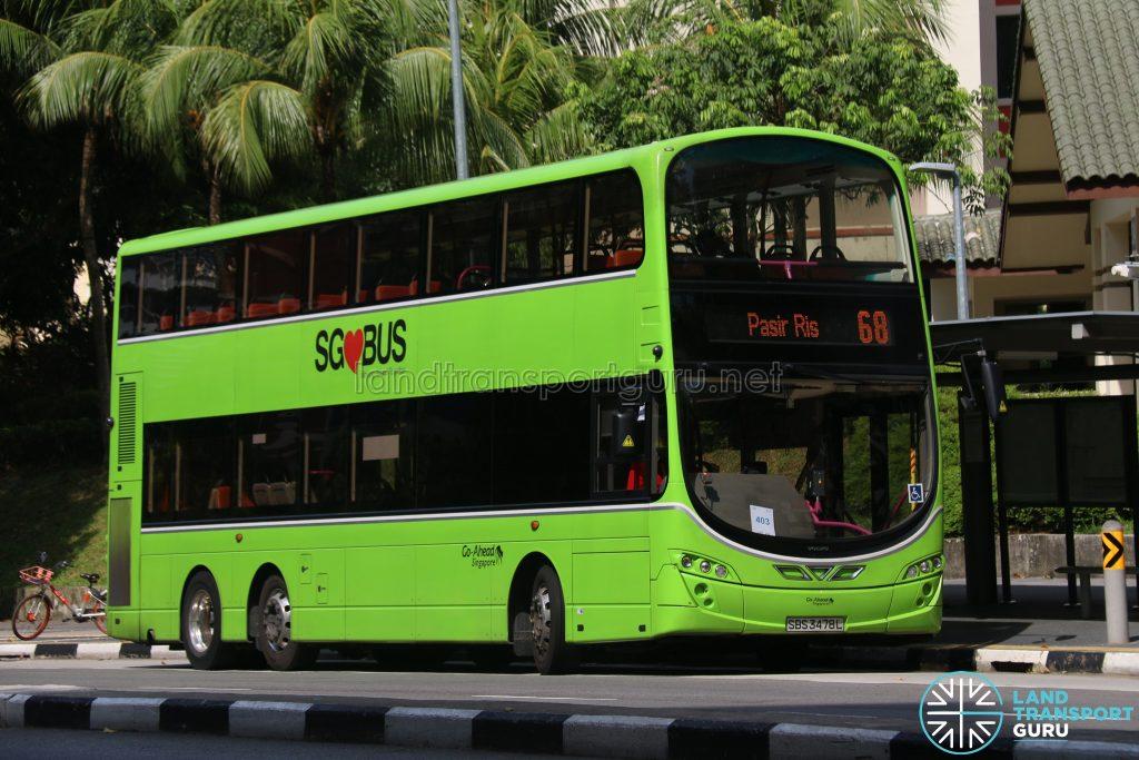 Bus 68 - Go-Ahead Volvo B9TL Wright (SBS3478L)