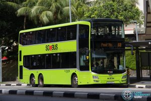 Bus 68: Go-Ahead MAN Lion's City DD (SG5914T)