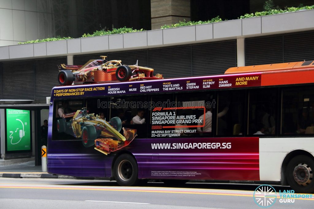 Formula 1 Singapore Airlines Singapore Grand Prix 2019 3D Advertisement
